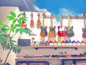 ギター・ベースのクリーニング・セットアップはSOUNDNINEへおまかせください!!